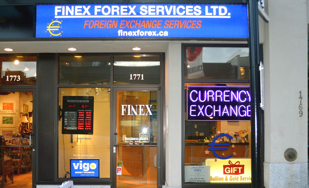 Forex exchange vancouver